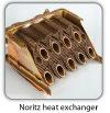 Noritz Tankless Water Heater Super Heat Exchanger