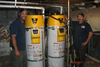 Vertex Condensing Hot Water Heater