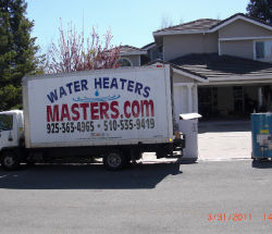 Water Heater Masters truck