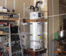 water heaters are often safest in the garage