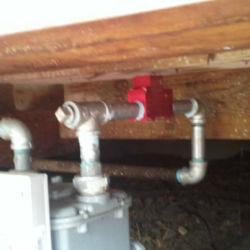 Underfloor water system