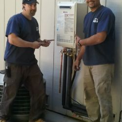 Proud tankless installation professionals