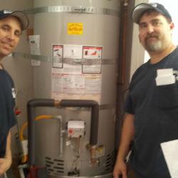 Proud water heater installers