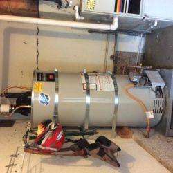 75gallon Power Vent Water Heater Installation