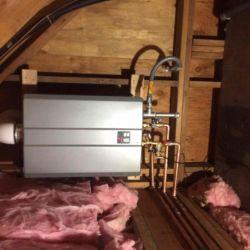 Attic Tankless Water Heater Installation