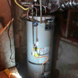 Power Vent Water Heater Installation
